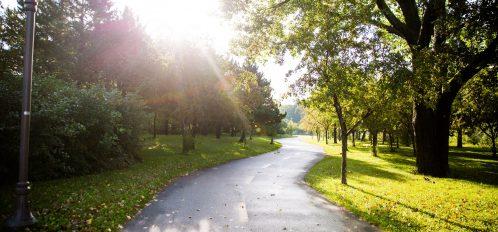 The Lackawanna Bike Trail runs through Carbondale PA
