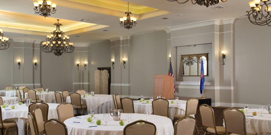 Gravity Hall: a meeting space at our hotel near Scranton, PA