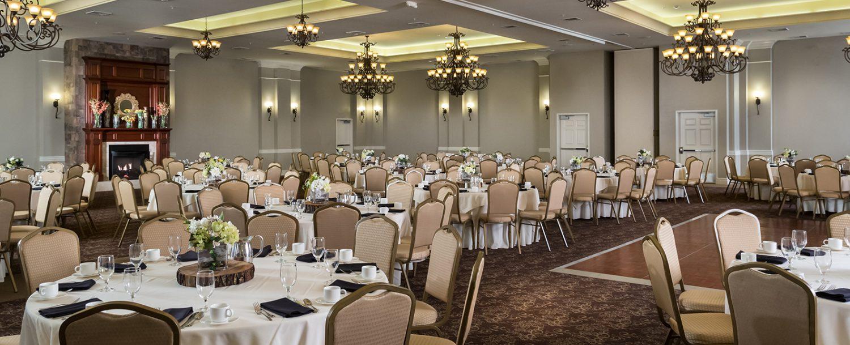 Hotel Anthracite Gravity Hall wedding venue