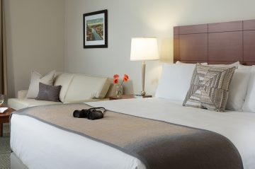 Hotel Anthracite King Room; Carbondale, PA, Accommodations