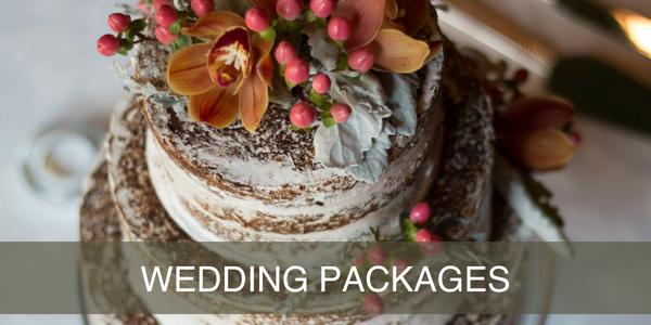 wedding cake for wedding package
